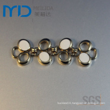 High Heel Shoe Parts with Zinc Alloy Bow Buckles